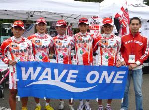 今回のジャパンカップに参加した選手達と浅田監督