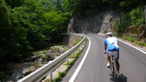 武道峠へのアプローチ