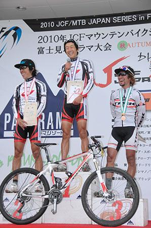 JCF/MTBジャパンシリーズ XCO 第5戦 富士見パノラマ エリート男子 表彰式