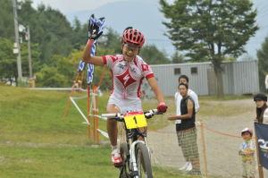 優勝!片山選手:Photo_Akihiro.NAKAO